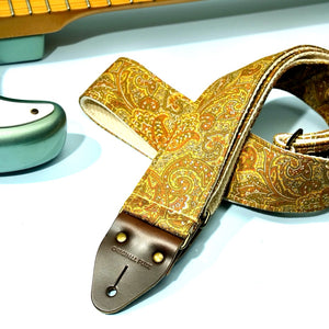 Paisley Guitar Strap in Kirkland Product detail photo 6