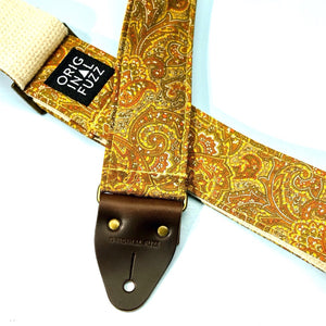 Paisley Guitar Strap in Kirkland Product detail photo 3