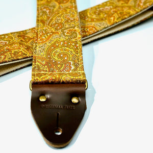 Paisley Guitar Strap in Kirkland Product detail photo 4