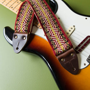 Peruvian Guitar Strap in Cusco Product detail photo 3