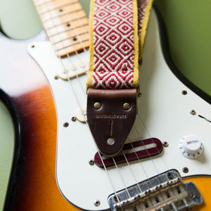 Peruvian Guitar Strap in Mochica Product detail photo 2