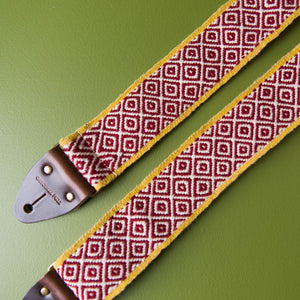 Peruvian Guitar Strap in Mochica Product detail photo 3