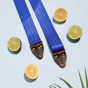 Seatbelt Guitar Strap in Cobalt Product detail photo 3
