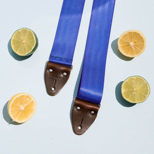 Seatbelt Guitar Strap in Cobalt Product detail photo 1