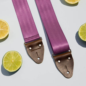 Seatbelt Guitar Strap in Purple Product detail photo 0