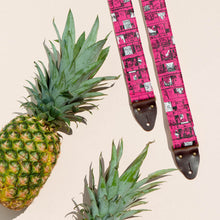 The Original Fuzz silkscreen guitar strap designed and named after Nashville musician Ron Gallo.