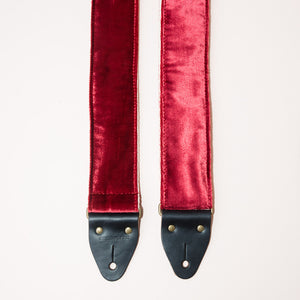 Velvet Guitar Strap in Long Island City Product detail photo 1