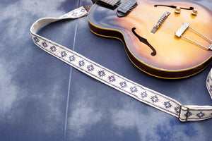 Silkscreen Guitar Strap in Reed Turchi