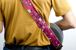 Silkscreen Guitar Strap in Ron Gallo Product detail photo 0