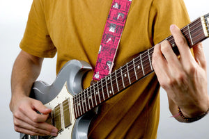Silkscreen Guitar Strap in Ron Gallo Product detail photo 3