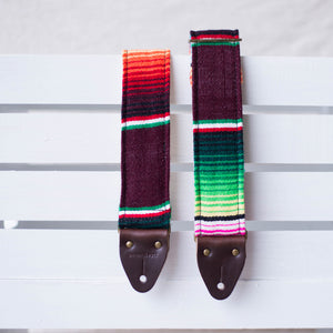 Serape Guitar Strap in Escondido Product detail photo 3