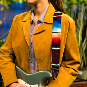 Serape Guitar Strap in Escondido Product detail photo 0