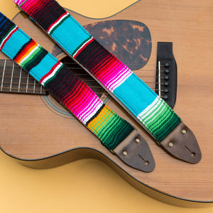 Serape Guitar Strap in Desmachine Product detail photo 2