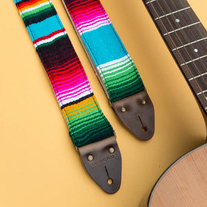 Serape Guitar Strap in Desmachine Product detail photo 5