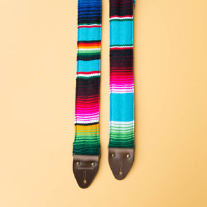Serape Guitar Strap in Desmachine Product detail photo 1