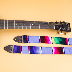 Serape Guitar Strap in Prickly Pear Product detail photo 4