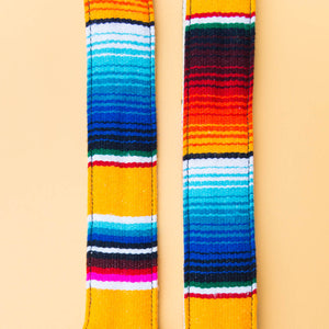 Serape Guitar Strap in El Dorado Product detail photo 4