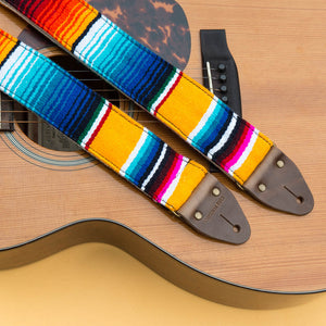 Serape Guitar Strap in El Dorado Product detail photo 2