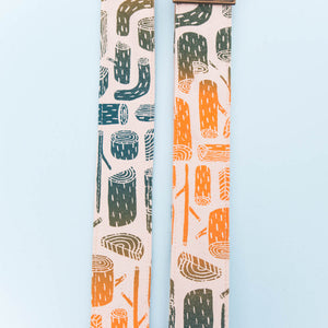 Silkscreen Guitar Strap in Stumps Product detail photo 1