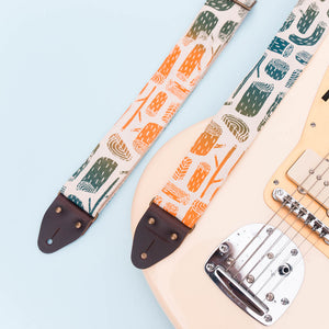 Silkscreen Guitar Strap in Stumps Product detail photo 3