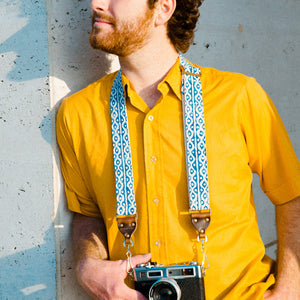 Skinny Camera Strap in Griff Product detail photo 1