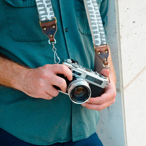 Skinny Camera Strap in Puri Product detail photo 3