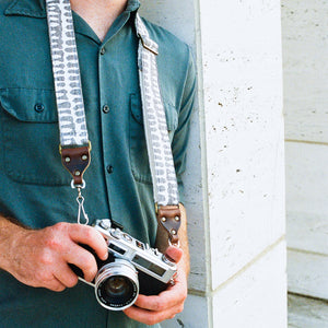Skinny Camera Strap in Puri Product detail photo 5