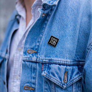 Square Logo Enamel Pin