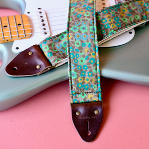 Floral Guitar Strap in Tittenhurst Product detail photo 0