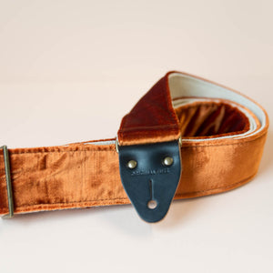 Velvet Guitar Strap in Chelsea Product detail photo 3