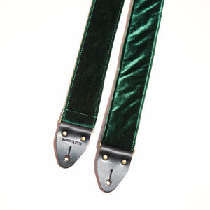 Velvet Guitar Strap in Greenpoint Product detail photo 2