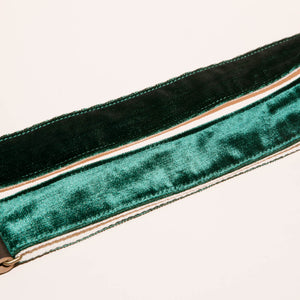 Velvet Guitar Strap in Greenpoint Product detail photo 1