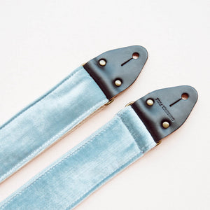 Velvet Guitar Strap in Bed-Stuy Product detail photo 2