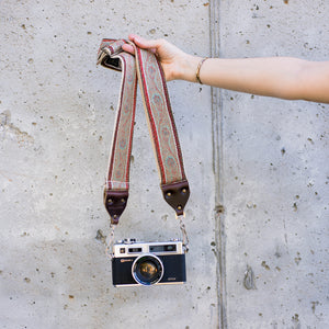 Vintage Camera Strap in Jewel Street Product detail photo 0