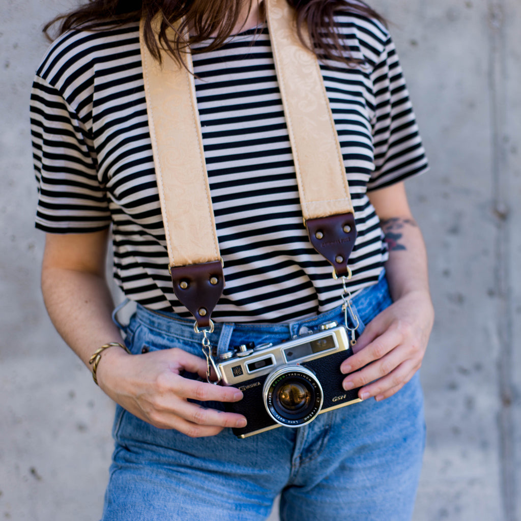Reclaimed Camera Strap in Lorimer