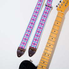 View of the vintage guitar strap in Academy Street with a Fender Telecaster