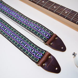 Vintage Guitar Strap in Depot Street Product detail photo 3