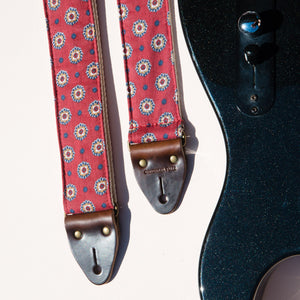 Reclaimed Guitar Strap in Hasell Street Product detail photo 3