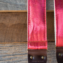 Vintage Guitar Strap in Royal Street