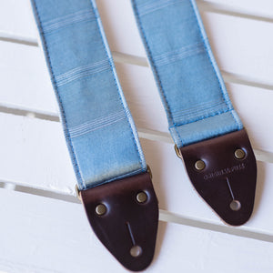 Reclaimed Guitar Strap in Diamond Street Product detail photo 0