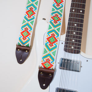 Vintage Guitar Strap in Town Mountain Road Product detail photo 4