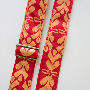 Silkscreen Guitar Strap in Dominical Product detail photo 2