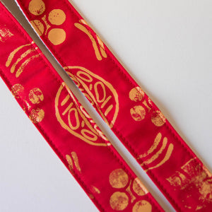 Silkscreen Guitar Strap in Dos Rios Product detail photo 2