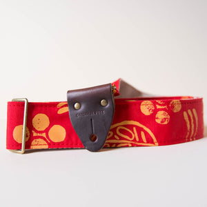 Silkscreen Guitar Strap in Dos Rios Product detail photo 3