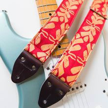 Silkscreen Guitar Strap in Dominical