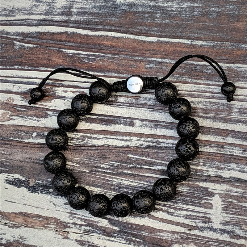 Lava Rock Nymph Ki Bracelet