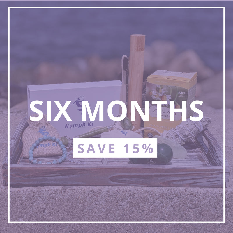 Subscription Box-  Six Month Plan SAVE 15%