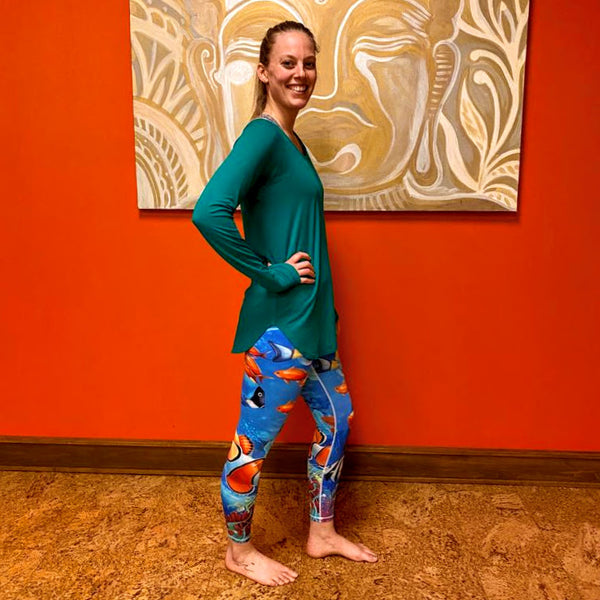 Tropical Sea Leggings