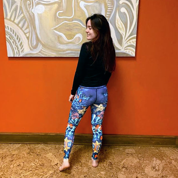 Deep Blue Sea Leggings