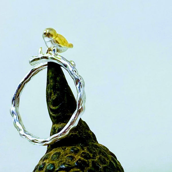 Adorable Finch Ring